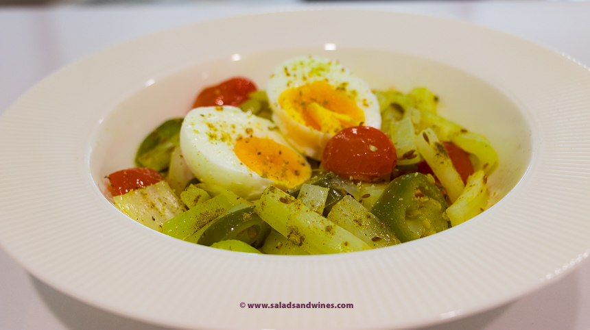 Celery with eggs salads and wines celery with eggs forumfinder Image collections